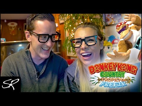 Introducing my Girlfriend to Donkey Kong Country: Tropical Freeze (Nintendo Switch)