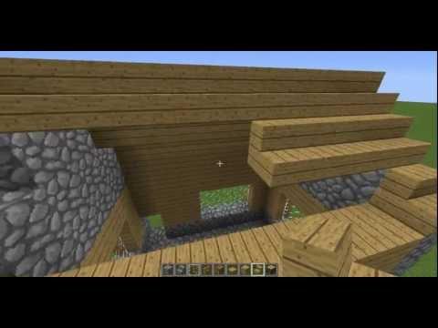 Minecraft Tutorial| NPC Village - Library