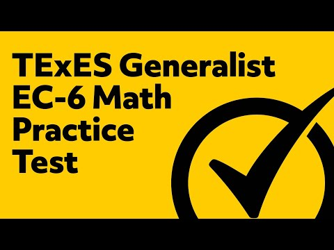 Free TExES Core Subjects EC-6 (291) Math Practice Test