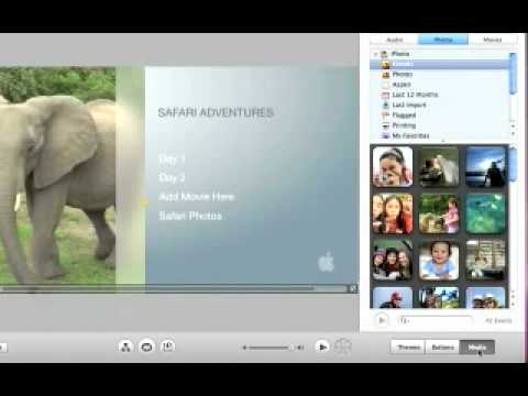 iMovie '09 - Burning Your Project To A DVD