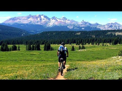 Best Colorado Trail Mountain Biking
