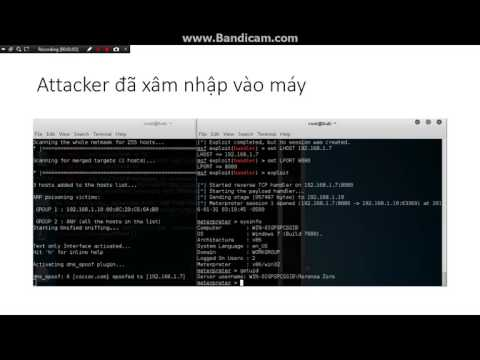 [Hacking] Exploit Windows with DNS Snoofing and PAYLOAD in KaLi Linux