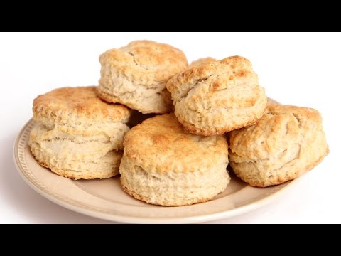 Homemade Flaky Biscuit Recipe - Laura Vitale - Laura in the Kitchen Episode 811