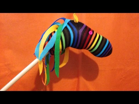 How To Make a Sock Hobby Horse - DIY Crafts Tutorial - Guidecentral