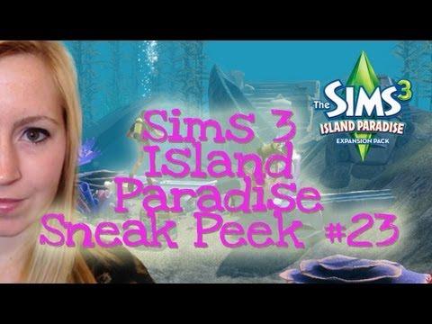 THE SIMS 3 ISLAND PARADISE GAMEPLAY SNEAK PEEK #23: MERMAID UNDERWATER