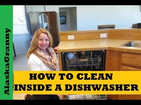 Easiest Way To Clean Inside Your Dishwasher