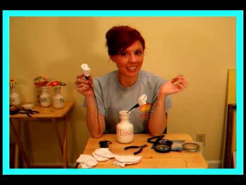 Carolyn Braden TOIE:  How to Make Baby Sock Roses!