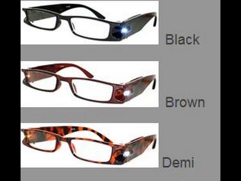 Lighted Reading Glasses.wmv
