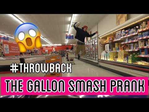 GALLON SMASH PRANK (RETURN COMPILATION)