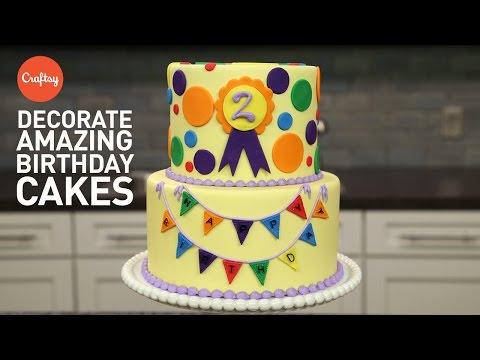 Amazing Birthday Cakes: 3 Easy Steps    Fondant Cake Decorating Tutorial