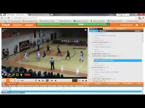 BB how to share a clip on Hudl