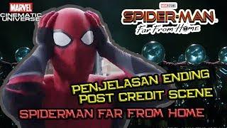 Misterio Beneran Mati !   Penjelasan Ending & Post Credit Scene Spider-Man Far From Home (Part 1)