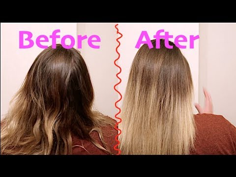 How To Layer Hair, Super Easy!