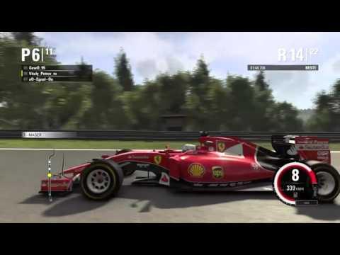 F1 2015 NGF1-Unity: 8.Saisonrennen - Belgien (Part 2)