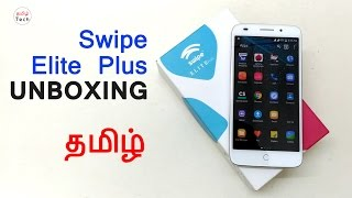 (TAMIL) Swipe Elite Plus  Unboxing & Overview , OTG , VR support Check