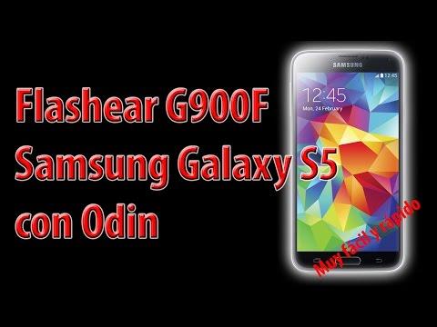 Flashear Samsung Galaxy S5 ( G900F ) con odin