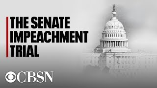 Impeachment Trial Day 1: Senate proceedings set to begin as rules come into focus