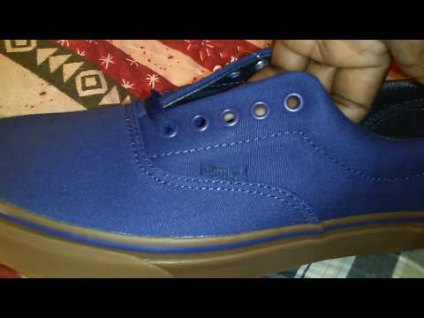Sneaker Game: Vans Era (Canvas) Blueprint/Gum Video 299