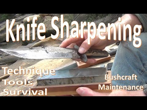 Knife Sharpening 101 -Basic Tools Techniques, and Methods-