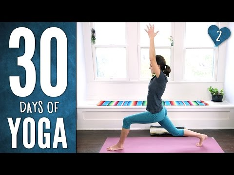 Day 2 - Stretch & Soothe - 30 Days of Yoga