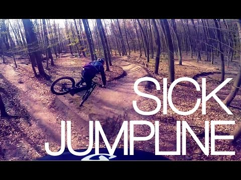 AWESOME FREERIDE JUMPLINE | GOPRO MTB | Luis Gerstner