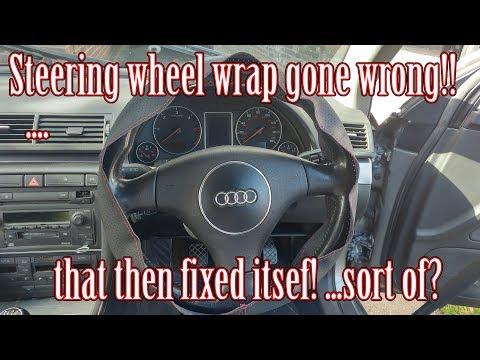 Steering Wheel Wrap Gone Bad - beware ebay kits!