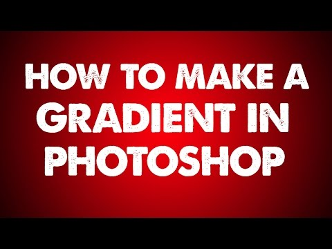 Photoshop Gradient | How to Make a Color Gradient Background