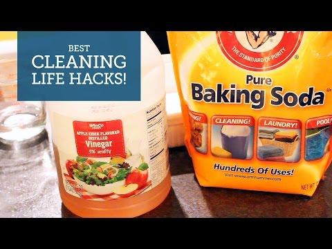 Best Cleaning Life Hacks: Baking Soda and Vinegar