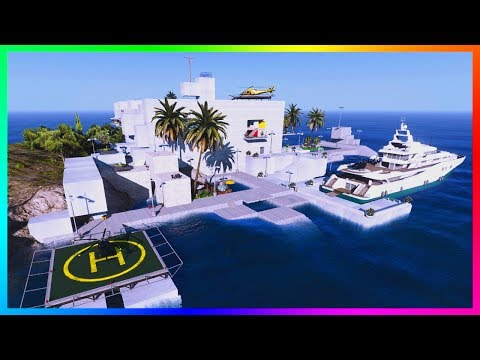 Owning A Private Island With A Mega Billionaire's Mansion, Super Yacht & MORE In GTA 5!