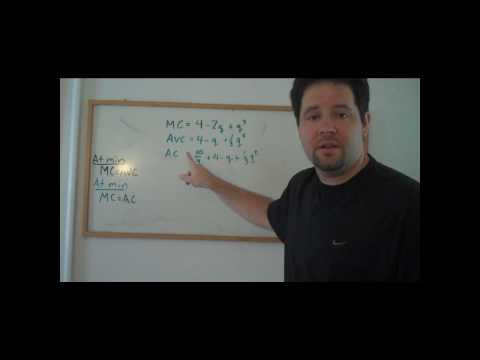 Useful Trick: Finding the minimum of AC and AVC