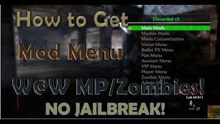 Cod waw mod menu ps3 tutorial
