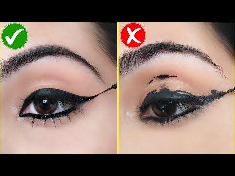 Wing Eyeliner लगाते समय यह गलतियां न करें - How To Apply Perfect Winged Eyeliner | Anaysa