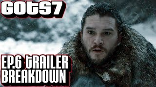"[Game of Thrones] Season 7 Episode 6 Trailer Breakdown | Ep 6 ""Beyond the Wall"""