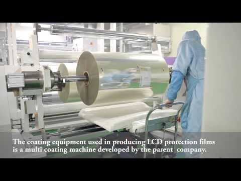 LCD protective glass, mobile phone protection, protection film by Wellco