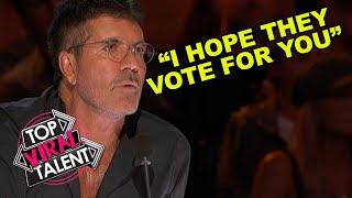 SIMON COWELL BELIEVES IN HIM! He Lost HIS Voice BUT FINDS IT AGAIN IN FRONT OF GOT TALENT JUDGES