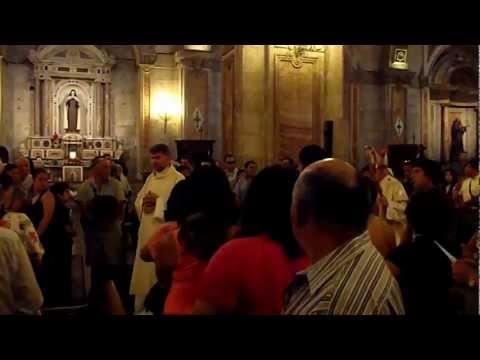 Catholic Mass at Santiago, Chile with Archbishop Ricardo Ezzati Andrello