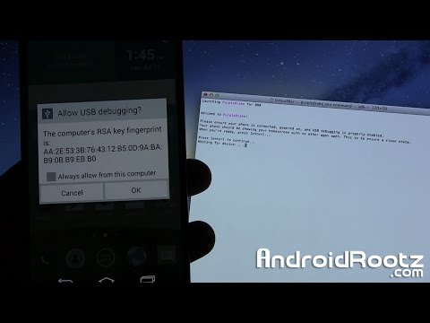 How to Root LG G3! [Mac/Linux/Ubuntu]