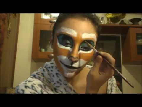 Puss in Boots tutorial make up