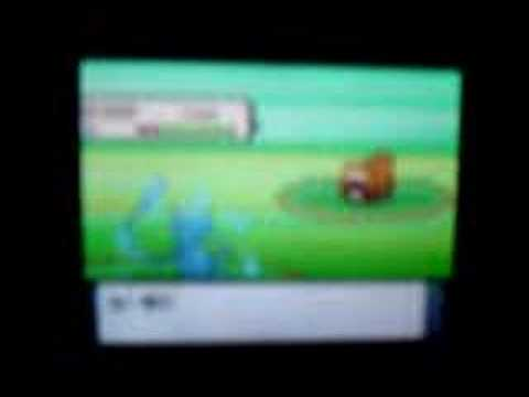Using Shiny Mew in Pokemon Pearl