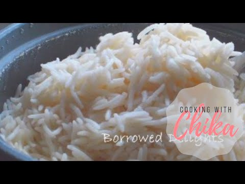 How to make Coconut Rice Recipe - Rice with Coconut Oil | Borrowed Delights – Episode 48