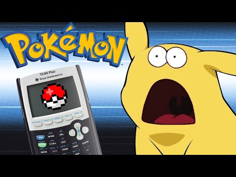 Pokémon on TI-84 Calculator! (With Download)
