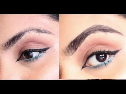 How to fill in eyebrows | Fixing Waxed Off EyeBrow Disaster | Pari Shumial