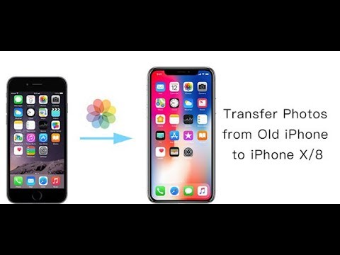 iPhone to iPhone X/8/7/6S Transfer - Contacts, SMS, Music, Photos, Videos and more