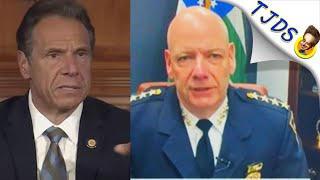 """Maniac NYPD Chief """"Couldn't Be Prouder"""" Of Brutal Cops"""