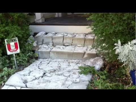 How to Install a Flagstone Path Part 1