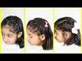 3 Simple & Cute Hairstyles for Medium Hair | MyMissAnand