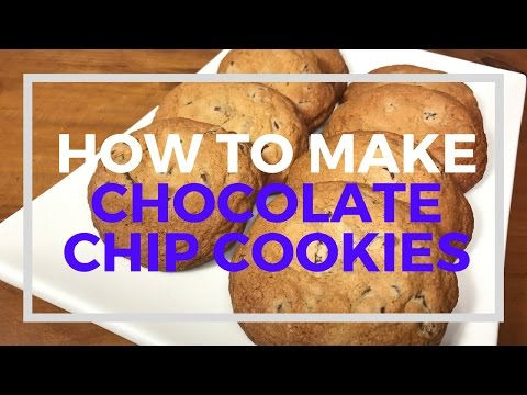 How to Make CHOCOLATE CHIP COOKIES l Best Chocolate Chip Cookie Recipe