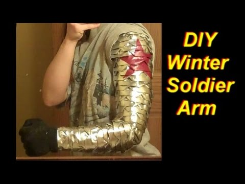 How to Make a Winter Soldier Arm