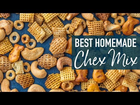 Chex Mix Recipe - BEST Chex Party Mix