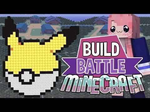 Pokémon   Build Battle   Minecraft Building Minigame